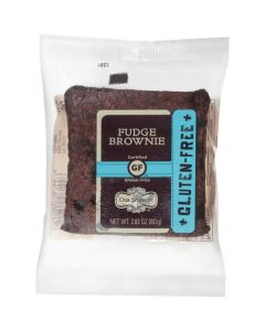 Gluten-Free Fudge Brownie, Individually Wrapped