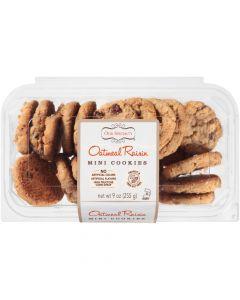 Oatmeal Raisin Mini Cookies