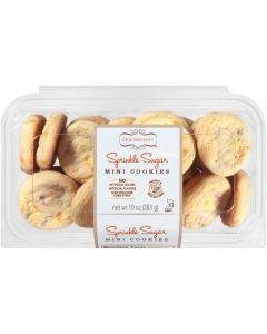 Sprinkle Sugar Mini Cookies