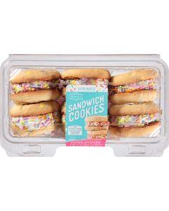 Sprinkle Sandwich Cookies